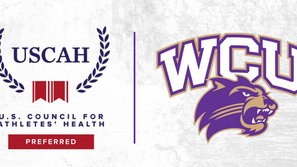 WCU Athletics Partners with US Council for Athletes' Health