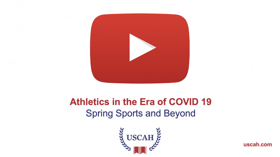 [VIDEO] Athletics in the Era of COVID 19 | Spring Sports and Beyond